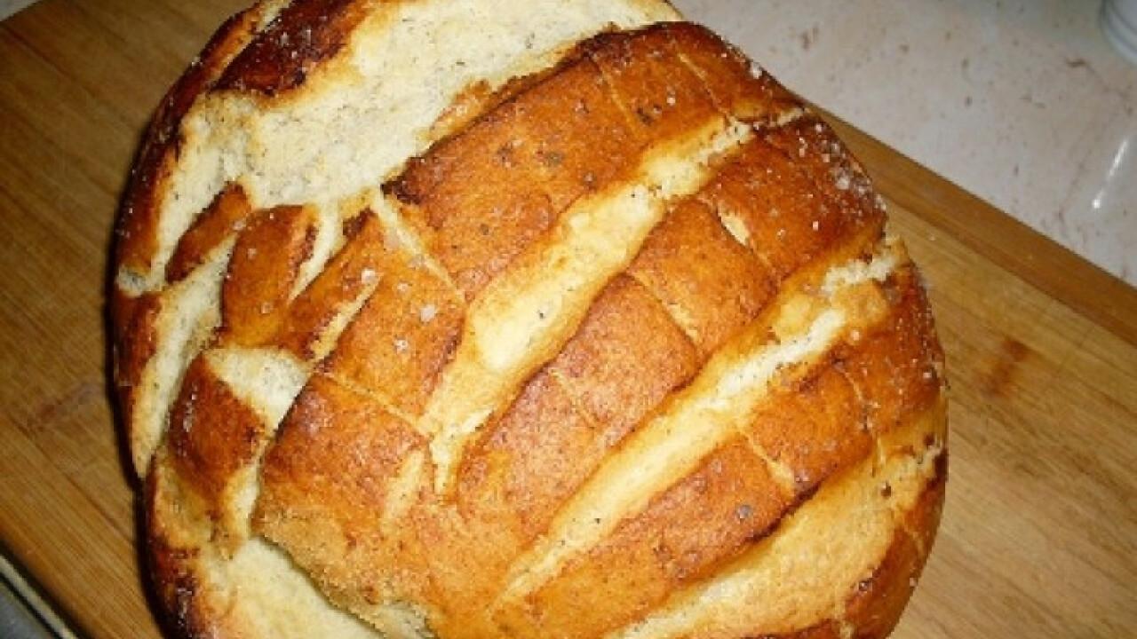 Fokhagymás kenyér Petter konyhájából