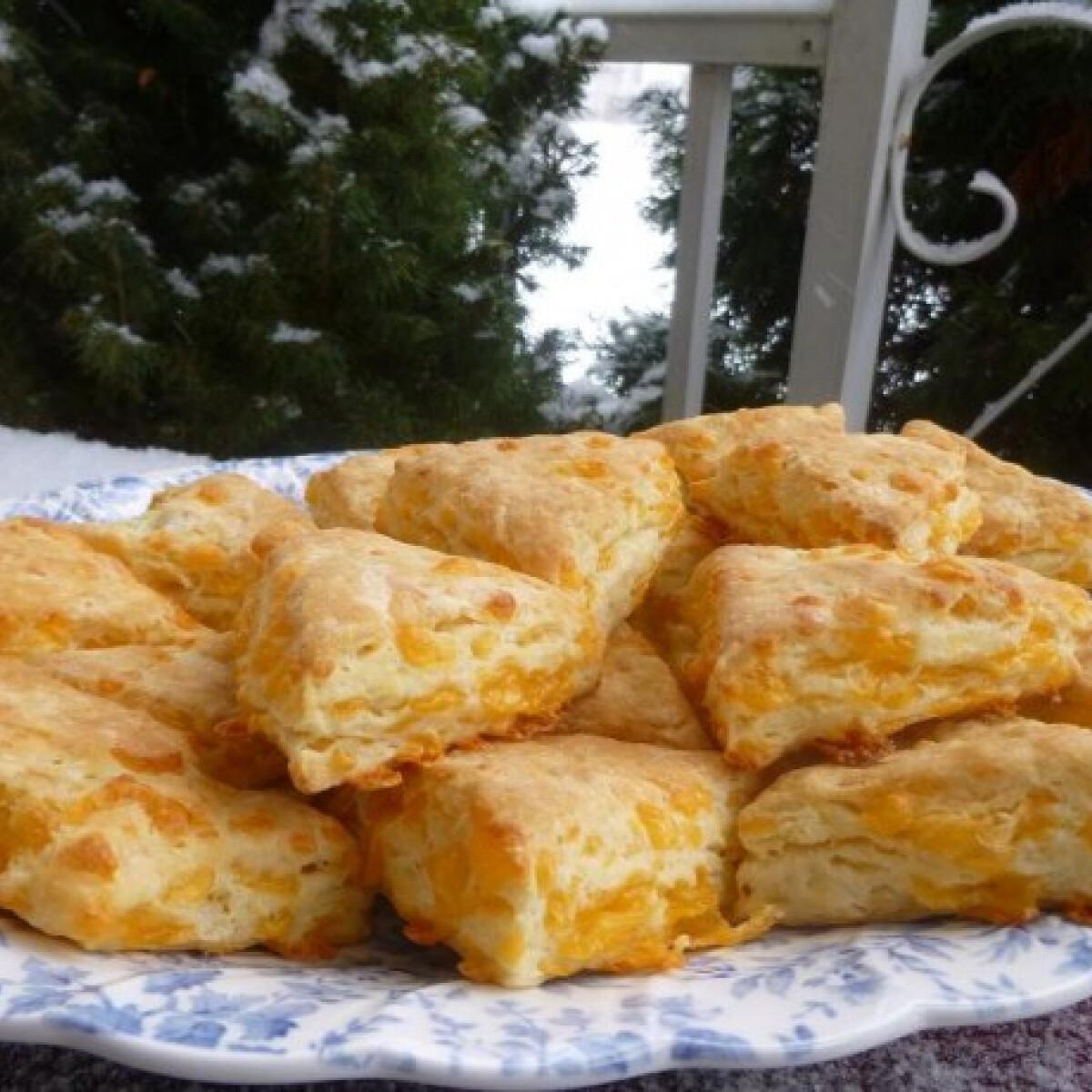 Ezen a képen: Tejfölös-sajtos háromszög