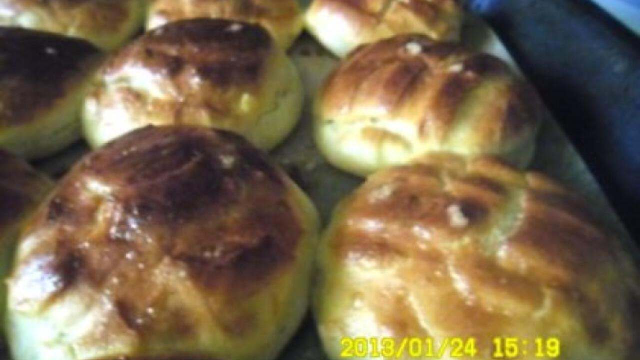 Krumplis-töpörtyűs pogácsa