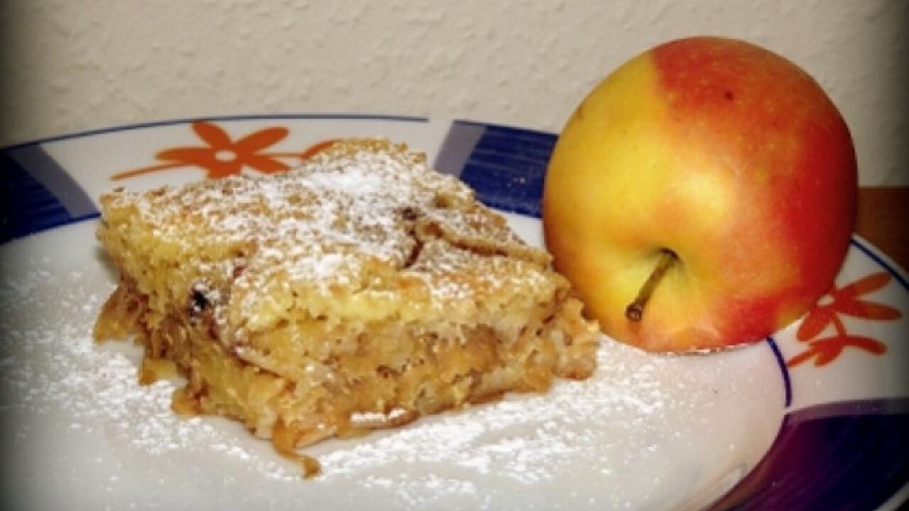 Almás süti lustáknak
