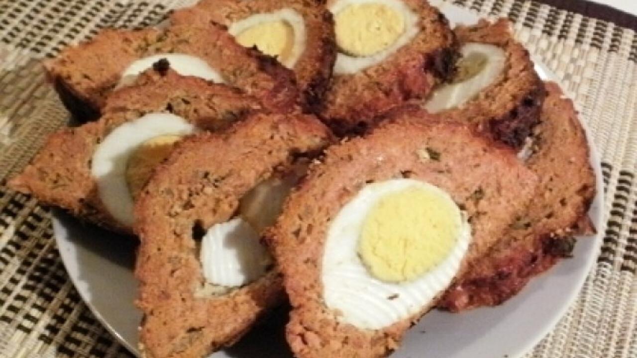 Egyben sült fasírt Kripili konyhájából