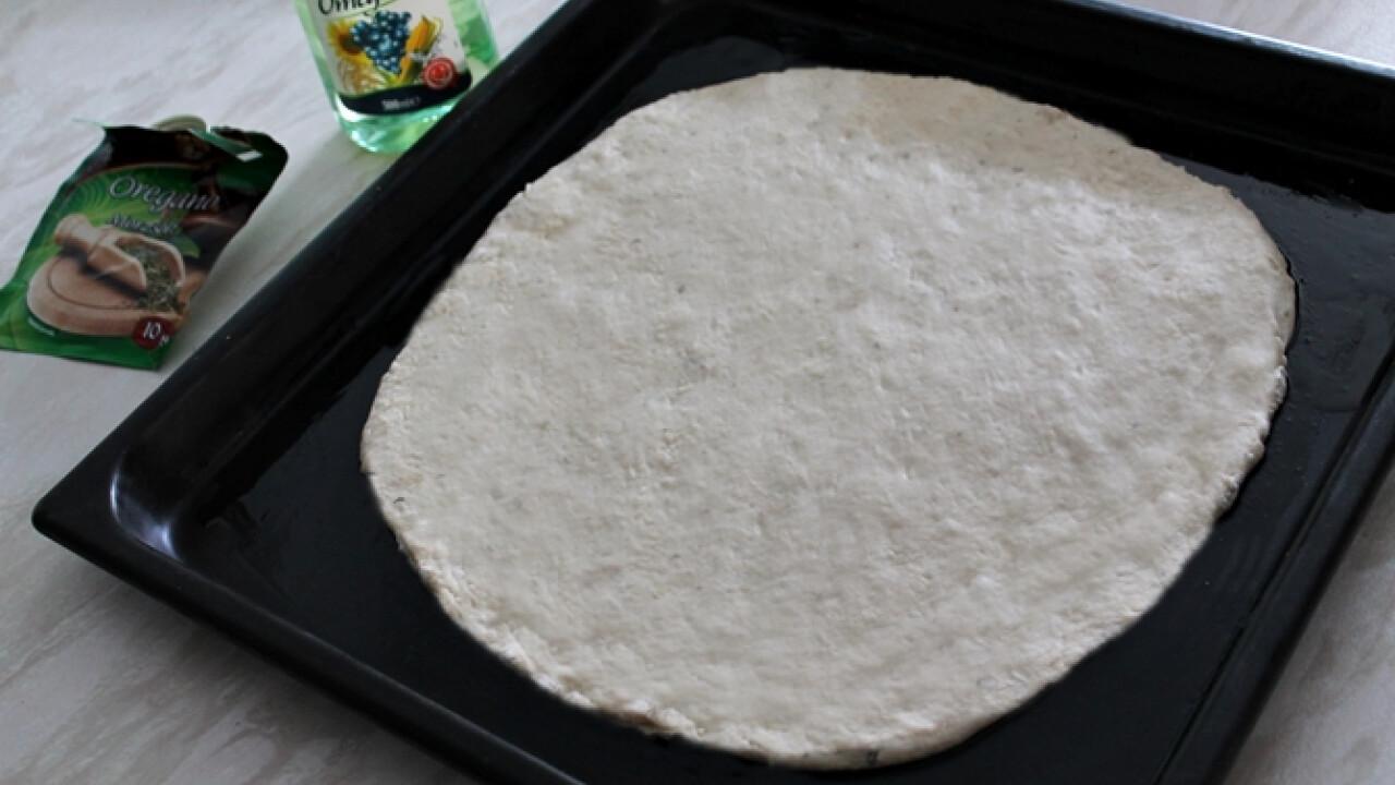 Pizzatészta házilag, egyszerűen