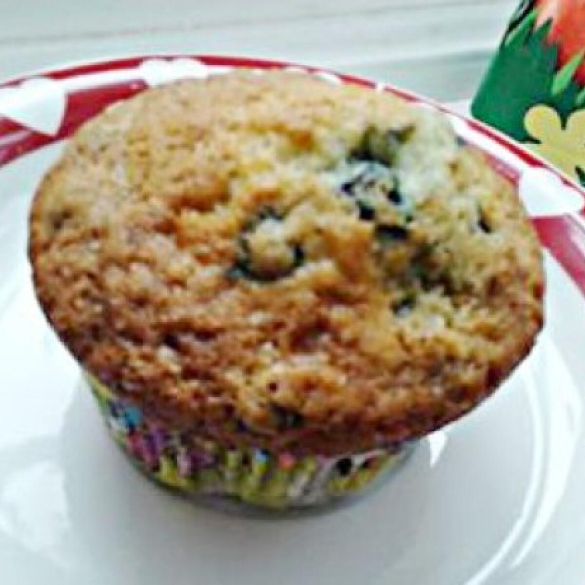 Ezen a képen: Áfonyás muffin, ahogy Olgi készíti