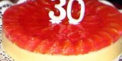 Sokadik túrótorta - gyümölcskocsonyával, tészta nélkül