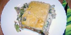 Darált húsos-brokkolis leveles tészta