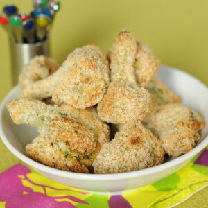 Mandulabundás, sütőben sült brokkoli babáknak