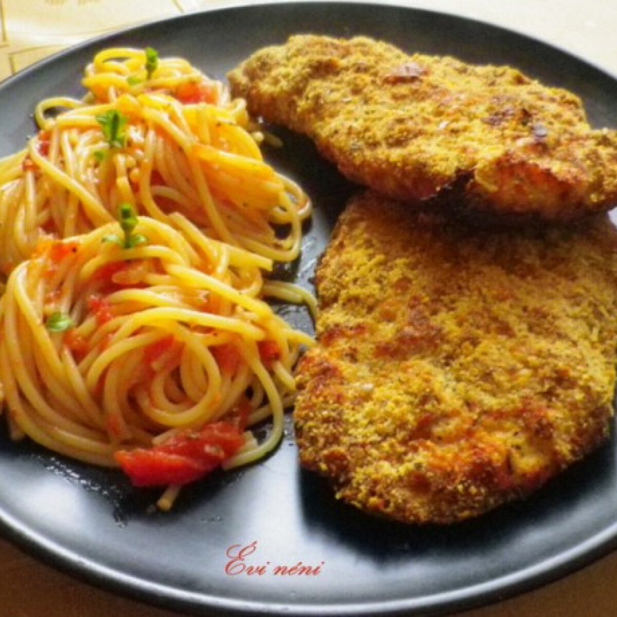 Ezen a képen: Itáliai rántott hús