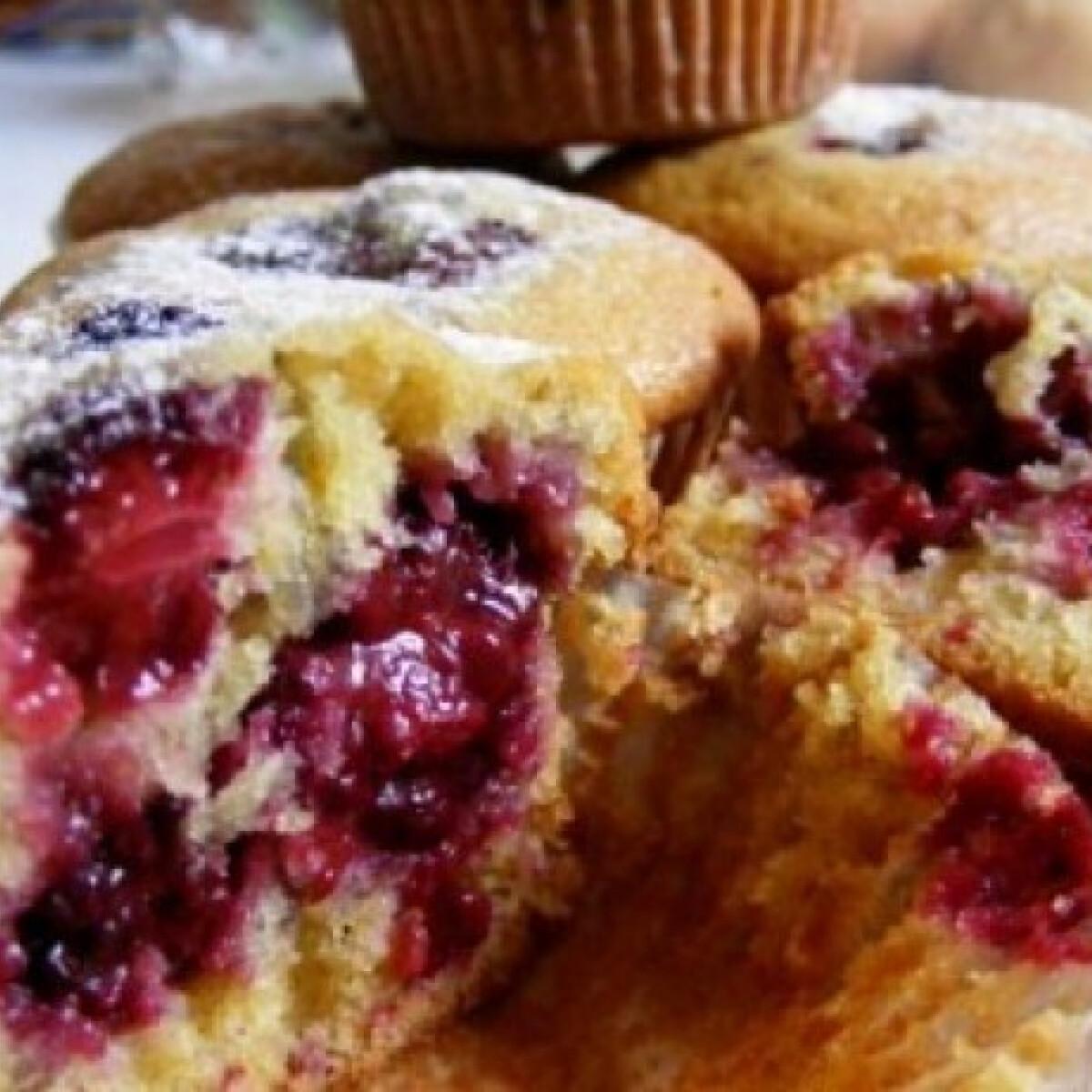 Ezen a képen: Szedres muffin