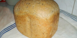 Sokmagvas kenyér sütőgépben
