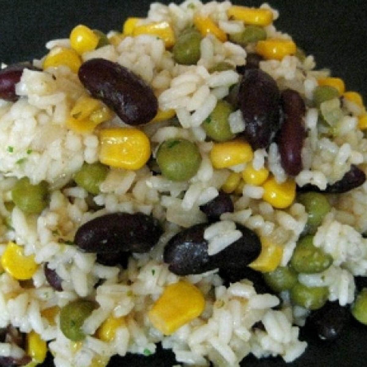 Ezen a képen: Zöldséges rizs B-Cs konyhájából