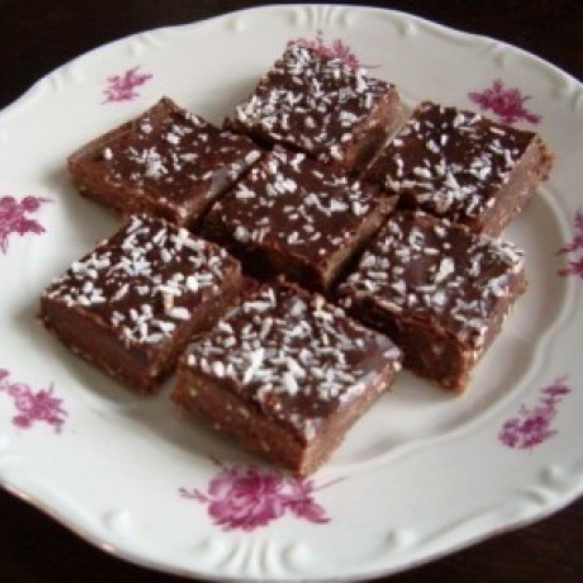 Ezen a képen: Kókuszos desszert
