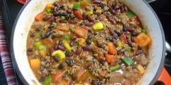 Sör nélküli chilis bab