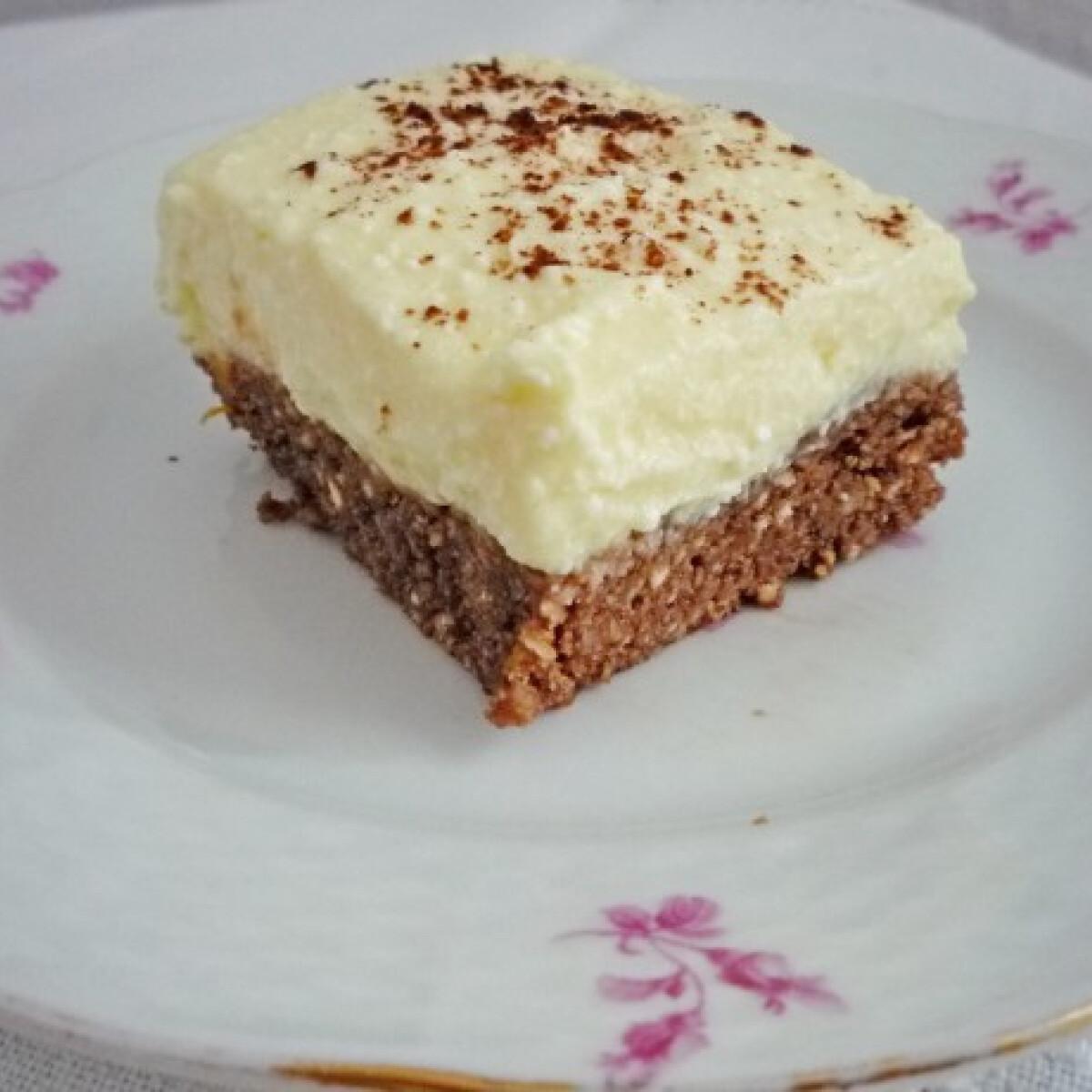 Ezen a képen: Túrós-csokis sütés nélkül
