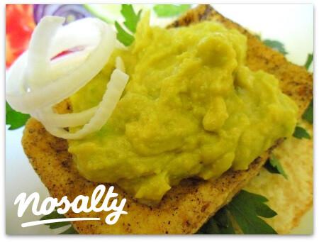 Ezen a képen: Vegán avokádó-majonéz
