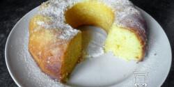 Citromos kuglóf - Chrissykétől