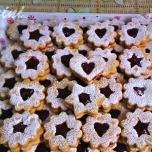 Karácsonyi linzer Panini konyhájából