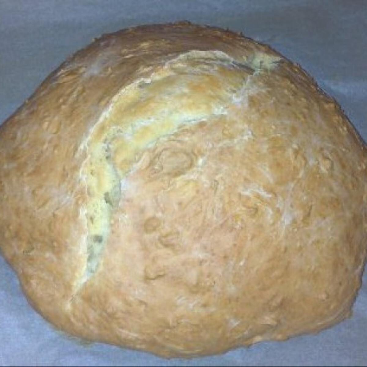 Ezen a képen: Expressz kenyér élesztő nélkül