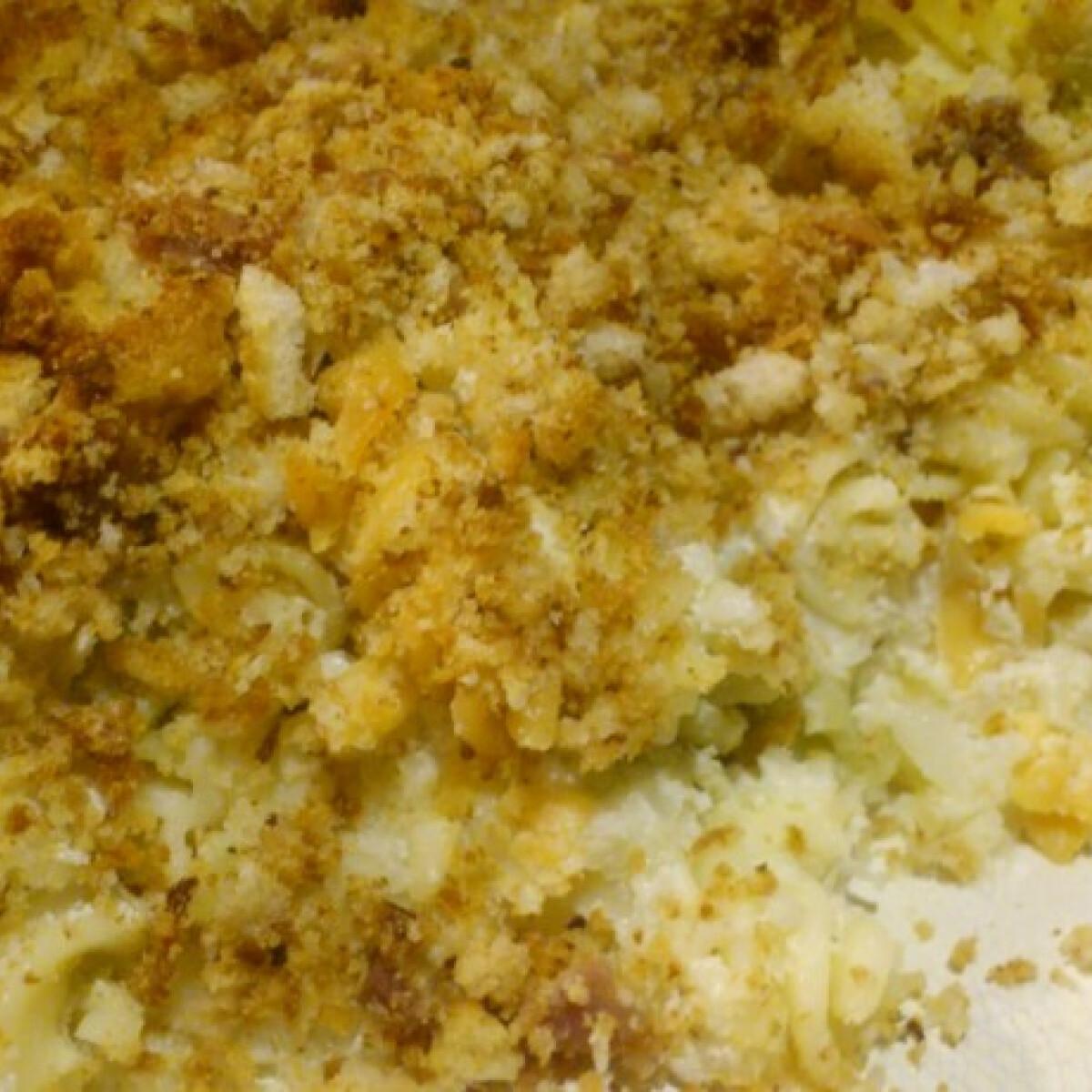 Ezen a képen: Karfiolos tészta gellertanya konyhájából