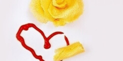 Sajtchips rózsa