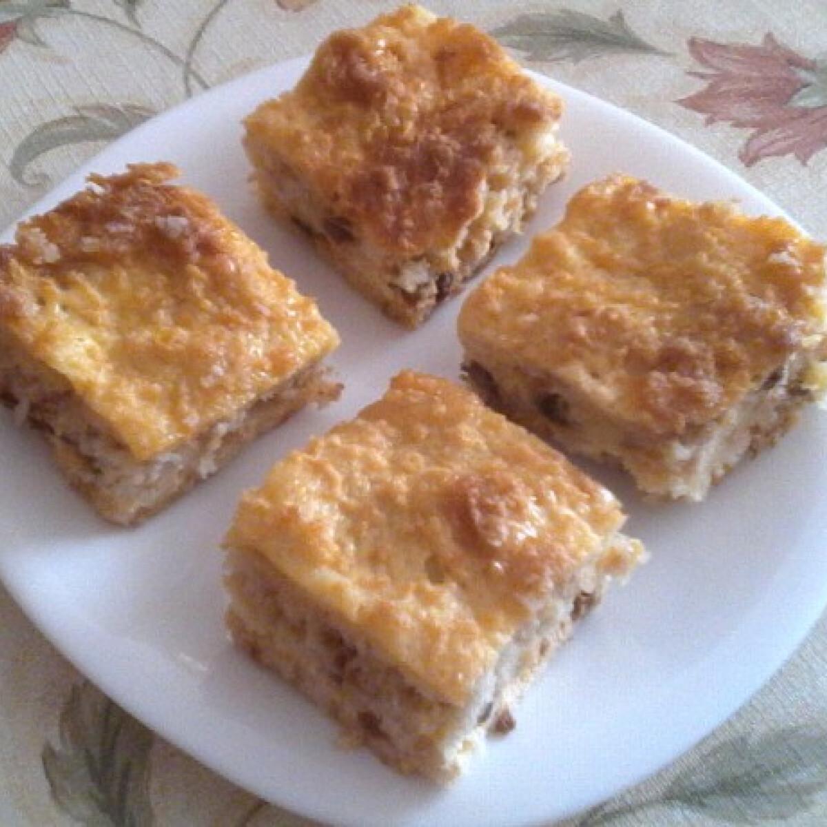 Ezen a képen: Lusta asszony sütije Erabell konyhájából