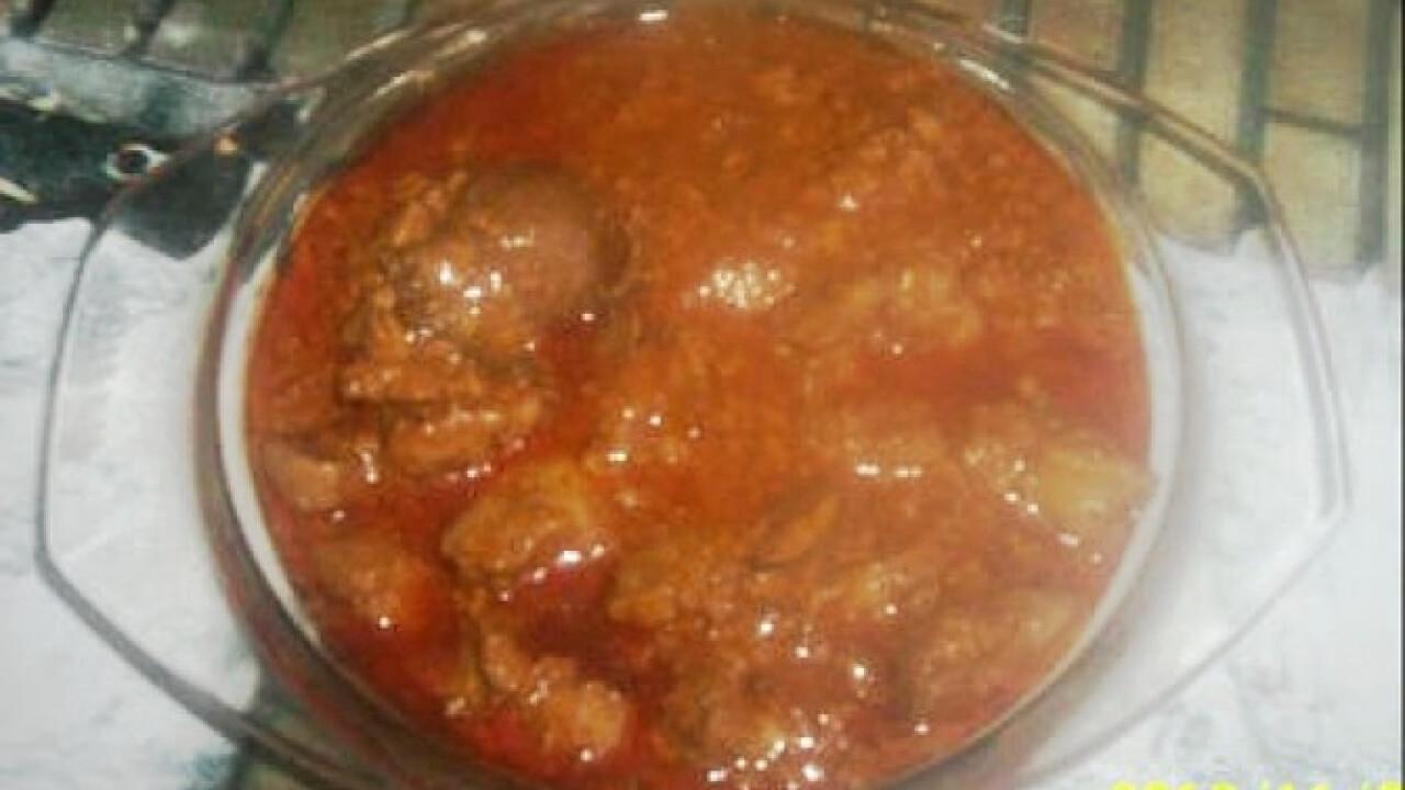 Resztelt csirkemáj Gabimami konyhájából