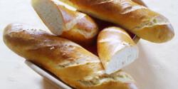 Hosszúkás kenyerek