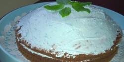 Tutti-fruttis torta mentával