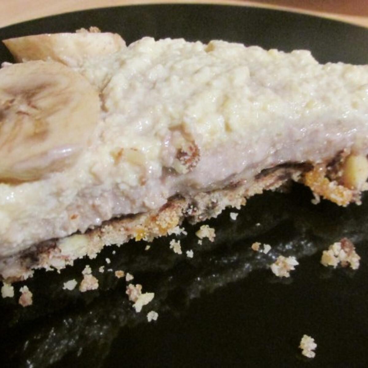 Nyers banoffee pie