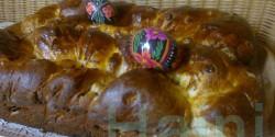 Húsvéti kalács Jahin konyhájából