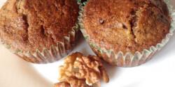 Diós-csokis muffin DorciMade konyhájából