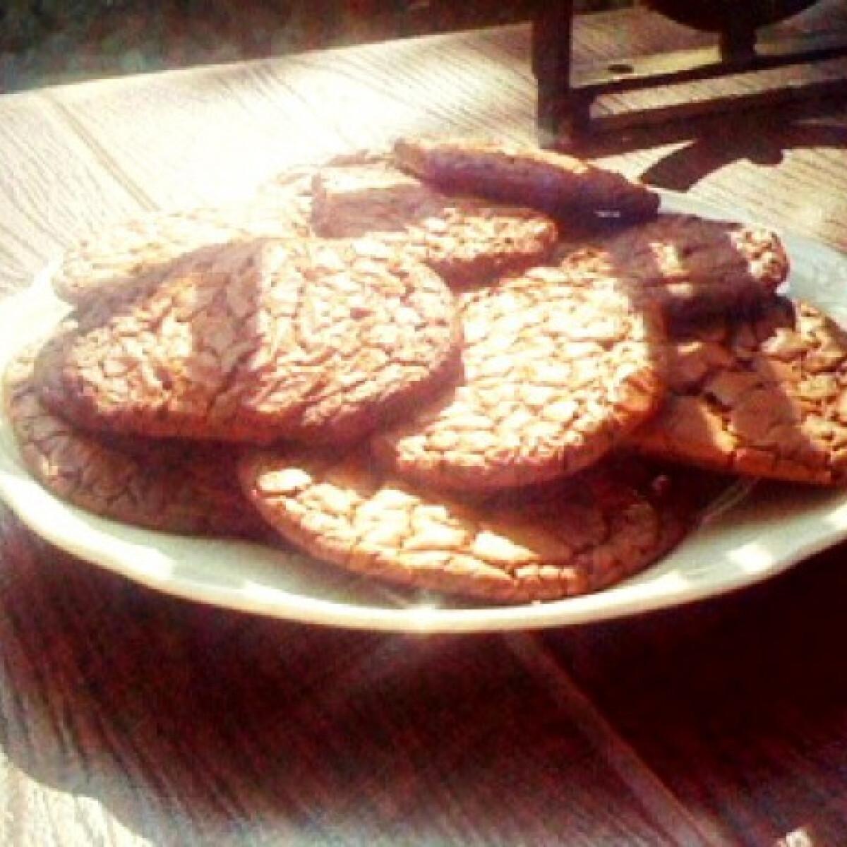 Ezen a képen: Nutellás keksz gluténmentesen