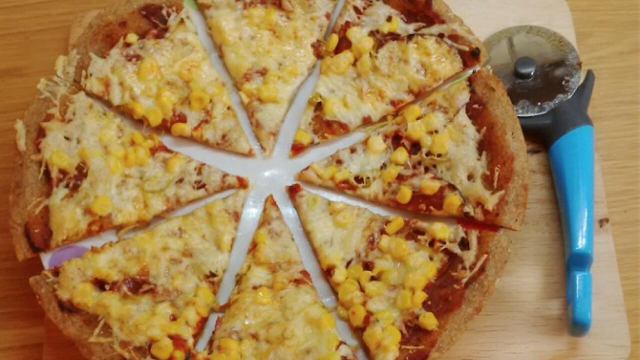 Kovászos pizzatészta