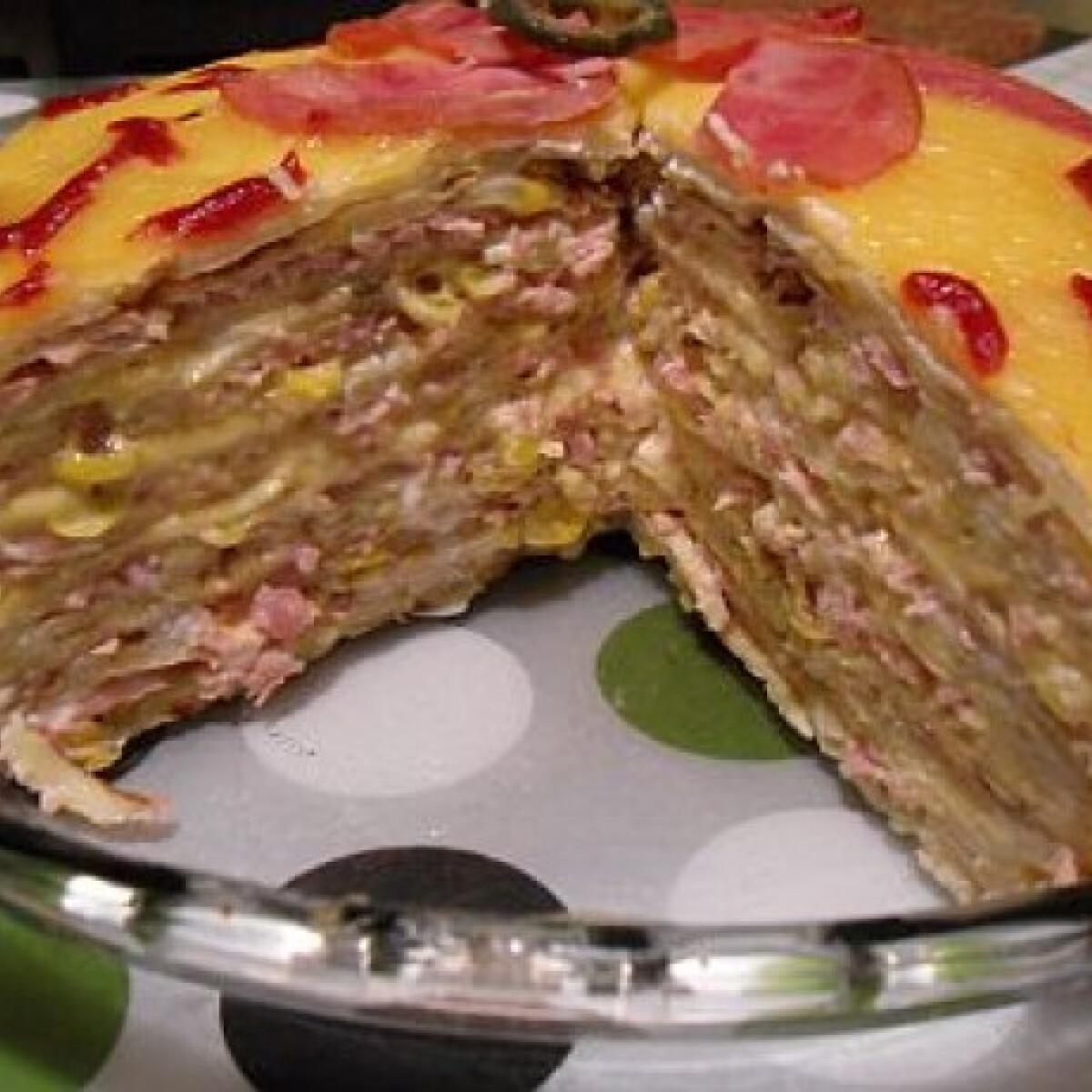 Palacsintatorta Geleva konyhájából