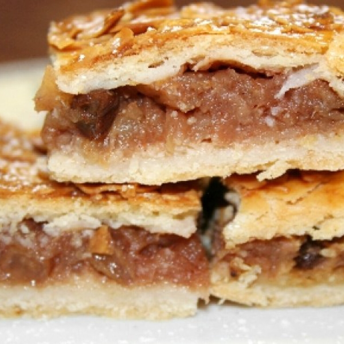 Ezen a képen: Almás pite - kis extrákkal