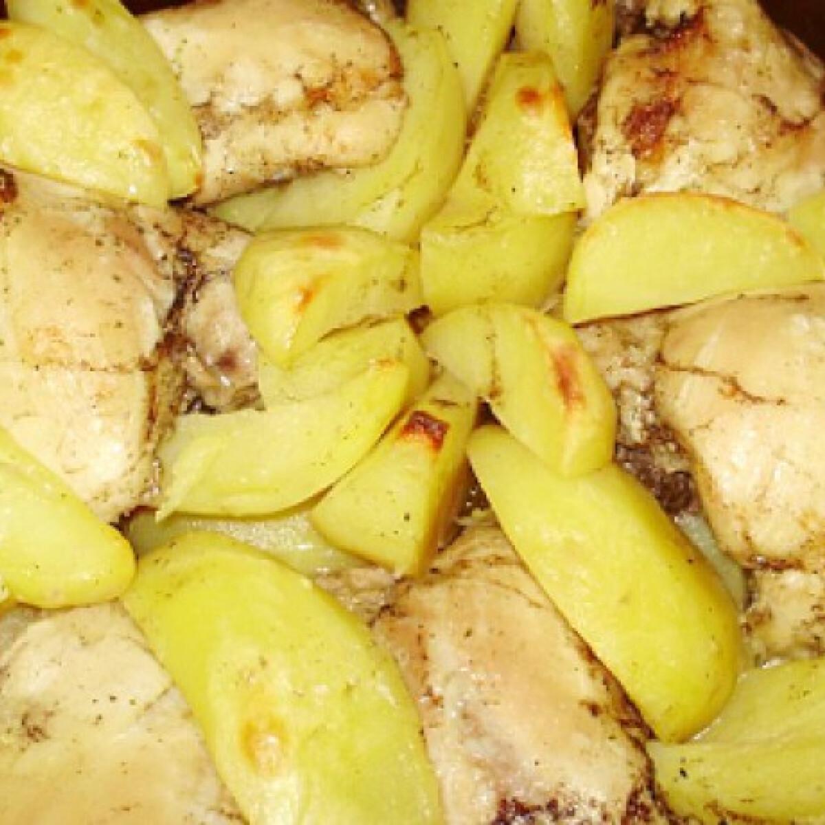 Ezen a képen: Rozmaringos csirkecomb Boszi konyhájából