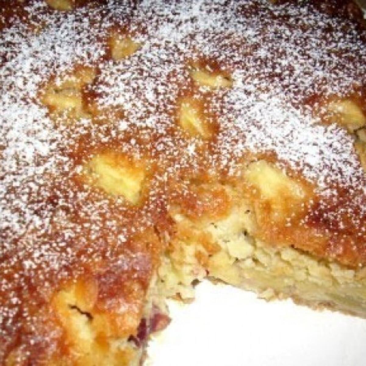 Ezen a képen: Svéd almás-áfonyás sütemény