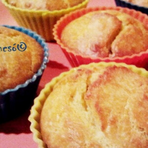 Zöldpestós muffin