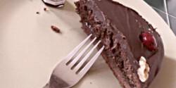 Sacher-torta ahogy D.anyuka készíti