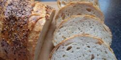 Kovászos fehér kenyér Bettymami konyhájából