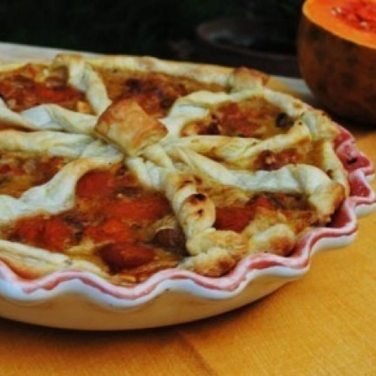 Ezen a képen: Vasárnapi sütőtök quiche