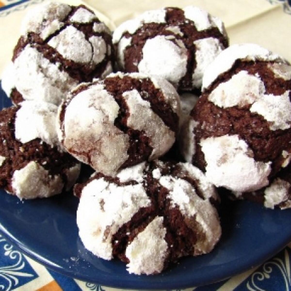 Ezen a képen: Crackle cookies