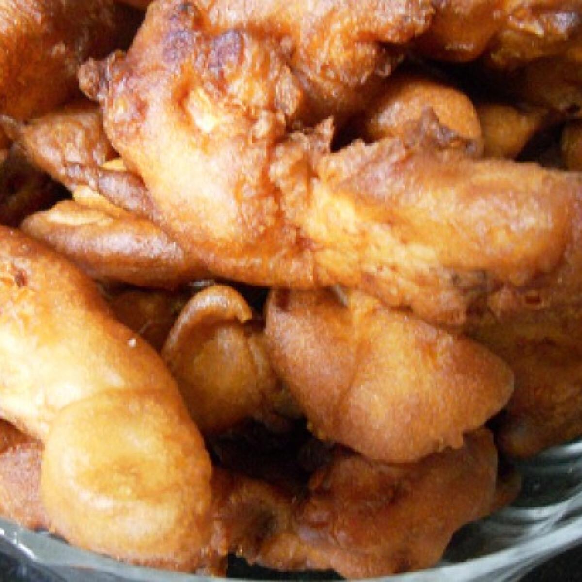 Ezen a képen: Csirkemellcsíkok sörtésztában