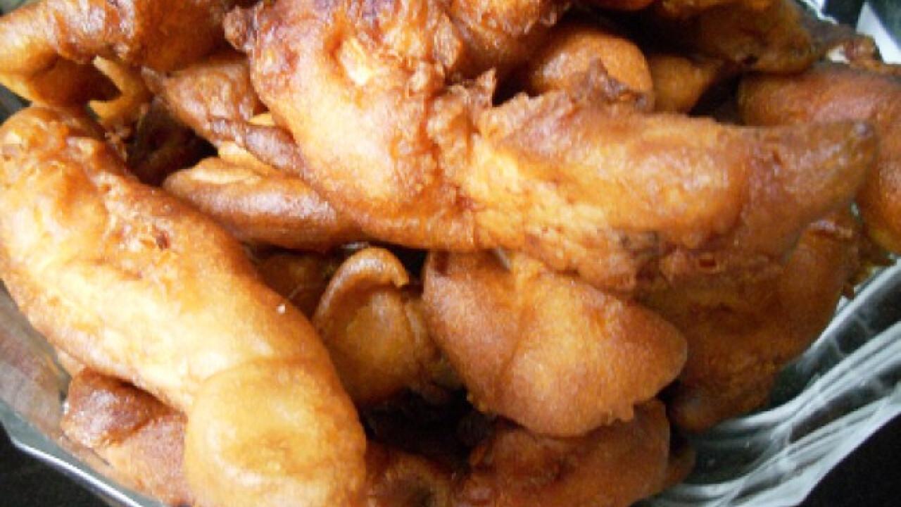 Csirkemellcsíkok sörtésztában