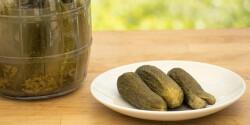 Kovászos uborka Egészséges receptektől