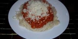 Hétköznapi bolognai spagetti