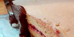 Csokiganache tortákhoz, muffinokhoz, fondant alá