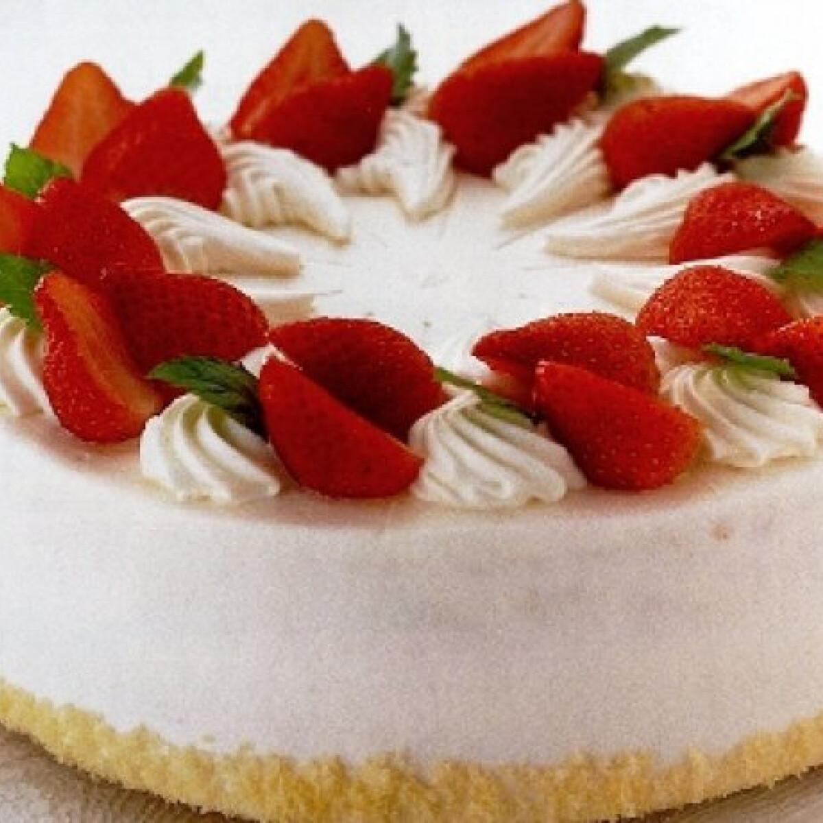 Epres-tejszínhabos shortcake