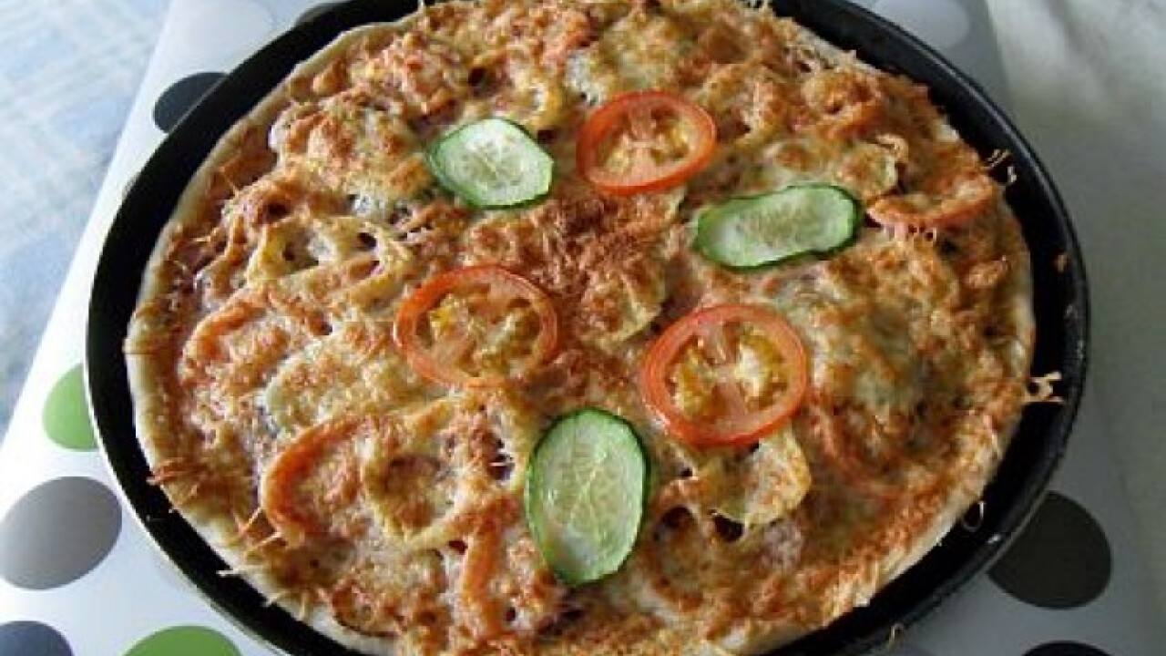 Szecsuáni pizza