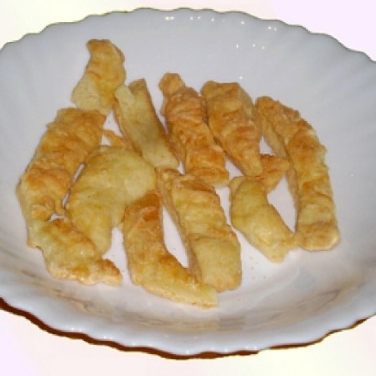Ezen a képen: Egyszerű sajtos rúd Zoly konyhájából