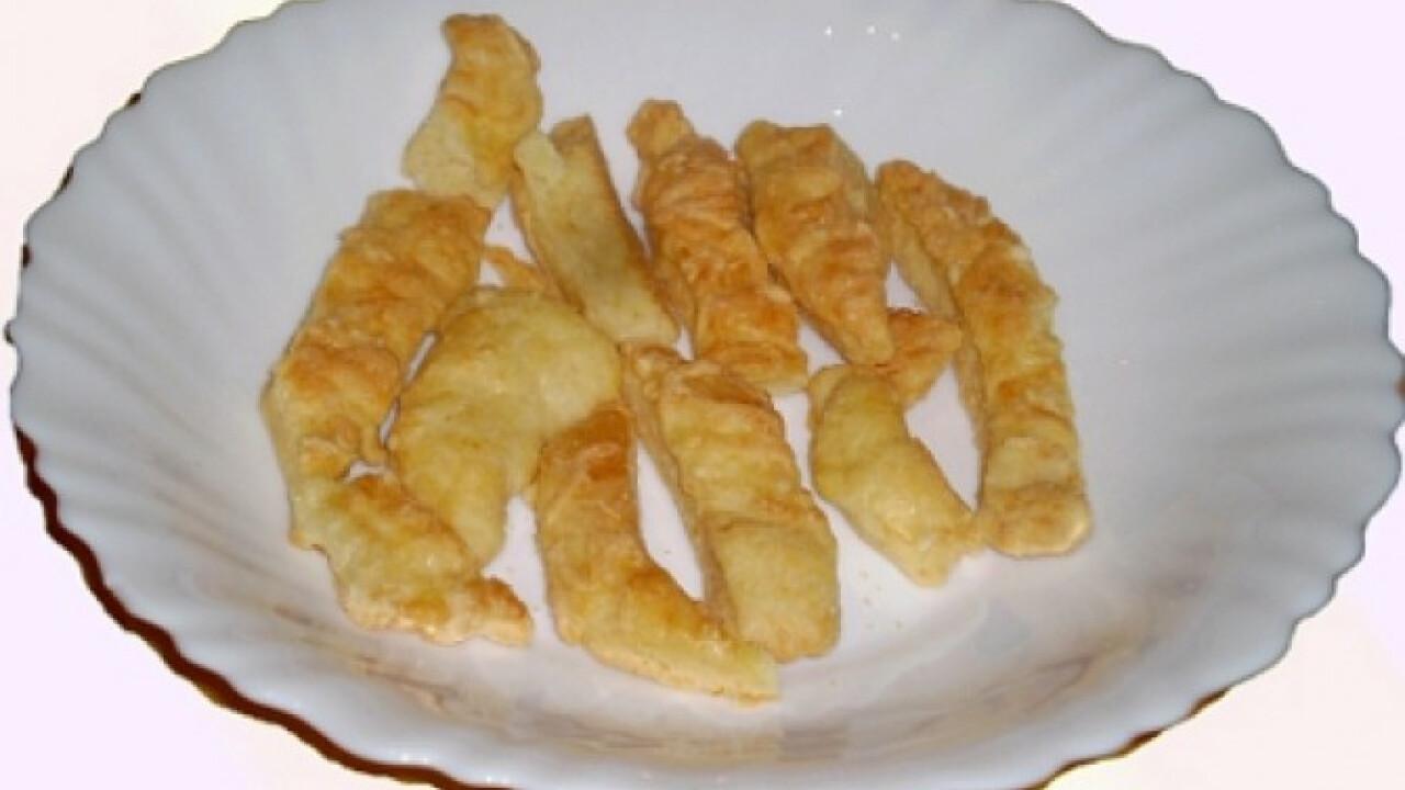 Egyszerű sajtos rúd Zoly konyhájából